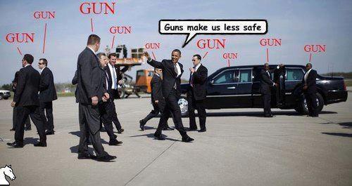 Gun-Hypocricy
