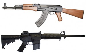 AK-47 Vs AR-15... fate la vostra scelta!
